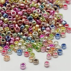 6/0,8/0,12/0 Electroplate Seed czech Glass Beads,Iris Round, Dyed,mixed color beads in box,5~4mm, Hole: 0.6-1.mm free shipping