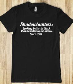 shadowhunters :) I love the city of bones books!