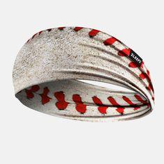 Old Baseball Wide Headband