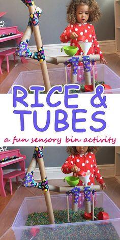 Tubes & Rice – HAPPY TODDLER PLAYTIME #daycaretips