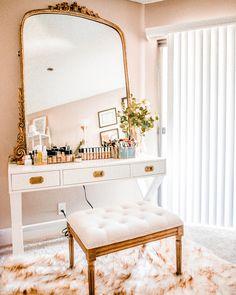 Home Decoration Bedroom .Home Decoration Bedroom Bedroom Vintage, Home Bedroom, Bedroom Decor, Mirror Bedroom, Bedroom Furniture, Bedrooms, Modern Bedroom, Make Up Tisch, Vanity Decor