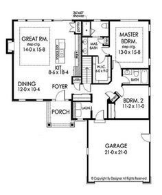 Plan No.357831 House Plans nice! Laundry connected to