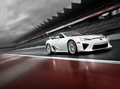 Lexus LFA. I love the unique styling of this car and the amazing sound of its v10 engine revving to 9000 RPM.