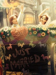 Flynn and Rapunzel: Happily Ever After!