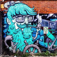 Perth street art - Atwell arcade