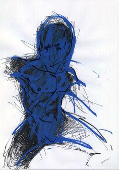 Giorgos Chatziagorou, Figure in motion (2) on ArtStack #giorgos-chatziagorou #art