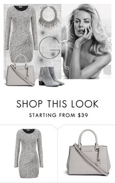 """50 shades of grey"" by naommm ❤ liked on Polyvore featuring maurices, Michael Kors, Nicholas Kirkwood and grey"