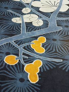 Tai Ping - Mandarin Oriental Barcelona with Patricia Urquiola Tai Ping - Hong Kong - Paris - New York - Tapis - 1956 - Décoration - Intérieur - Bleu - Jaune - Blanc - Motifs - APR