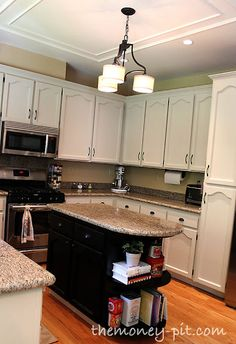 This makes the daunting task I'm thinking about taking on seem doable...YIKES!! The Kim Six Fix: How To Paint Your Kitchen Cabinets Without Losing Your Mind