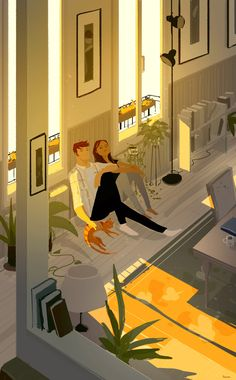 Sort of like a light shower by PascalCampion on DeviantArt