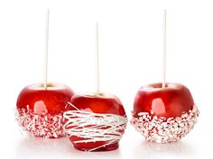 Holiday Candy Apples Recipe : Food Network Kitchen : Food Network - FoodNetwork.com