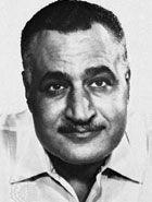 Gamal Abdel Nasser.