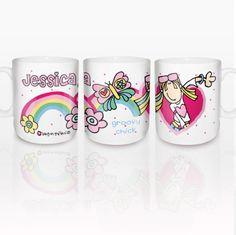 Bang on the Door Groovy Chick Rainbow Mug £10.95