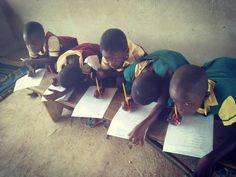 Exam mood activated :) #school #volunteer #volunteerlife  #volunteeringhana #teachingproject #koforidua #ghana