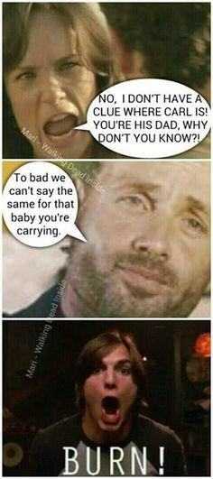 The Walking Dead funny memes