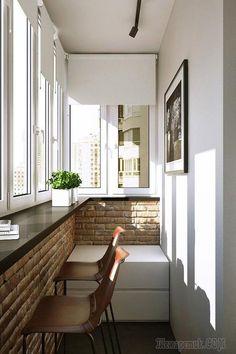 65 Trendy Home Garden Design Modern Decks - Balcony Garden Home Design, Home Garden Design, Home Interior Design, Design Ideas, Indoor Balcony, Small Balcony Decor, Balcony Garden, Interior Balcony, Interior Exterior