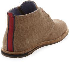 ben sherman chukka boots   Ben Sherman Aberdeen Chukka Boot Khaki in Brown for Men (KHAKI)