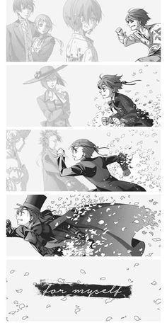 """""""I am a selfish and self-righteous human being. To clear my own shame, I used your power. Not for anyone else! But for myself!!"""" Ciel P."""