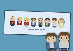 The Goonies parody  Cross stitch PDF pattern by cloudsfactory, $6.50