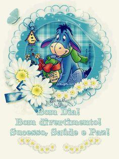 Bom Dia! Bom divertimento! Sucesso, Saúde e Paz!