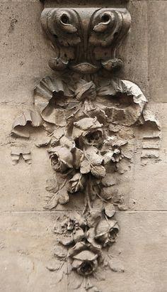 Paris architectural detail