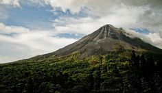 Volcán Arenal, Costa Rica.