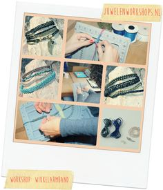 Collage workshop wikkelarmband