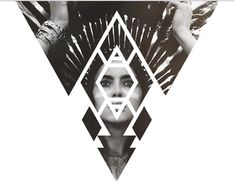 Creative Tribal and Geometric image ideas & inspiration on Designspiration Art And Illustration, Illustrations, Web Design, Design Art, Print Design, Triangles, Tribal Images, Graphic Design Inspiration, Graphic Art