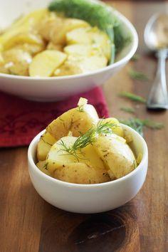 Potato Salad + Preserved Lemon & Dill Vinaigrette | Set the TableSet the Table