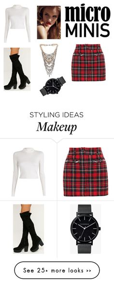 """""""Mini skirt"""" by anabela242000 on Polyvore featuring Filles à papa, A.L.C., Tom Binns and The Horse"""