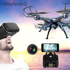Abbyfrank X5C RC Drone With 2MP Camera Airplane 2MP HD Drone 2 4G Airplane 4 CH. Click visit to buy #RemoteControl #Airplane