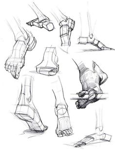 Enjoy a collection of references for Character Design: Feet Anatomy. The collection contains illustrations, sketches, model sheets and tutorials… This gall Drawing Skills, Drawing Lessons, Drawing Techniques, Life Drawing, Drawing Tips, Drawing Tutorials, Drawing Ideas, Manga Drawing, Drawing Art