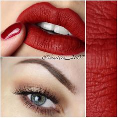 Gorgeous Look With Neutral Eye Shadows and Anastasia Beverly Hills Liquid Lipstick in 'Sarafine!'