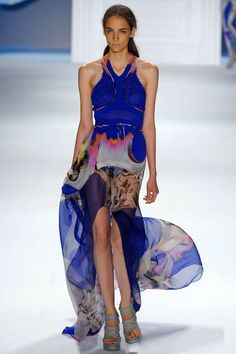 Colour done right. Vera Wang Dress