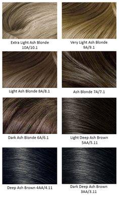 Ash Hair.                                                                                                                                                      More