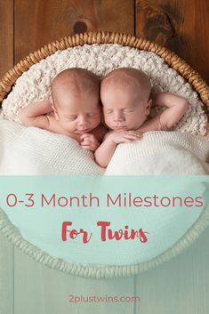 Wondering what your newborn twins should be doing during their first 3 months? This guide includes common milestones and activities to promote gross motor development for twin babies. Twin Baby Photos, Newborn Pictures, Twin Mom, Twin Babies, Funny Babies, Cute Babies, Twins Schedule, Newborn Activities, Newborn Twins