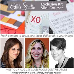 Exclusive Kit Mini Course - August 2015