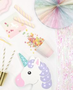 Here's a selection of our favourite unicorn party supplies and decorations!