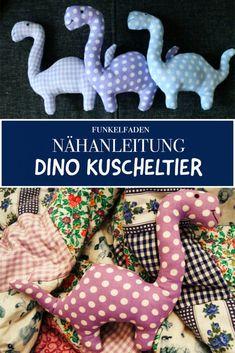Anleitung und Schnittmuster Dino Kuscheltier / Freebook Einfach nähen - Baby Spielzeug , સીવવાની સૂચનાઓ ડીઆઈનઓ કડલી ટોય - પેટર્ન અને સરળ ડાયનાસોર સ્ટ્ફ્ડ એનિમલ / ફ્રીબુક માટે સૂચનો Source by funkelfaden. Animal Sewing Patterns, Stuffed Animal Patterns, Sewing Patterns Free, Dinosaur Stuffed Animal, Pattern Sewing, Diy Sewing Projects, Sewing Projects For Beginners, Sewing Crafts, Sewing Ideas