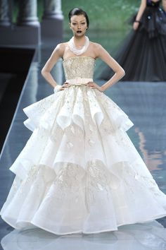 Morgane Dubled at Christian Dior Couture F/W 2008