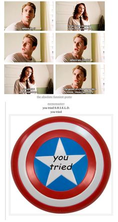 You tried, but you could not fool Captain America.