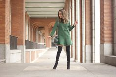 Green Dress | BeSugarandSpice - Fashion Blog