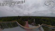 Duinrell 2019 Uitkijktoren 360° VR POV Onride