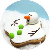 Melting snowman cookies (the original)