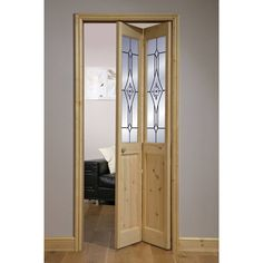 Canterbury Knotty Pine Etched 2 Lite Bifold Interior Door U2013 Next Day  Delivery Canterbury Knotty Pine Etched 2 Lite Bifold Interior Door