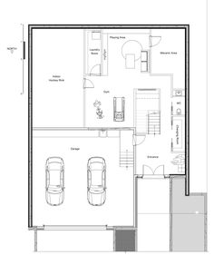 Quebec residence for ice hockey player includes indoor practice rink Ice Hockey Players, Ice Rink, Quebec, Floor Plans, Indoor, Space, House, Interior, Floor Space