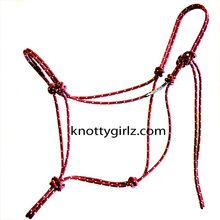 All kinds of Ropes & hardware(clasps, clamps, fasteners, etc.) to make DIY Halter & Lead ropes as well as a video to show you how to make them......