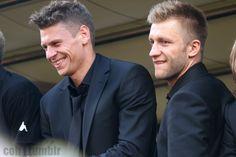Lukasz Piszczek and Jakub Blaszczykowski