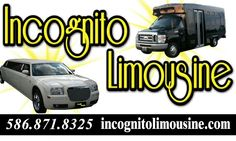 No matter the event we have the perfect transportation for you! Incognito Limousine & Party Bus 586.871.8325 www.incognitolimousine.com   #limo #partybus #limousine #limoservice #luxurybus