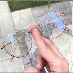 Fashion Women Glasses Frame Nicole Farhi Glasses Malcolm X Frames Glassy Eyewear Glasses Frames Trendy, Cool Glasses, New Glasses, Circle Glasses, Glasses Trends, Lunette Style, Fashion Eye Glasses, Fashion Mode, Mode Style